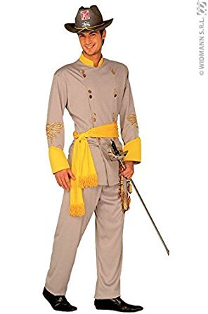 Kostüm De Homme Cowboy - Confederate General Costume Small for Wild West Cowboy Fancy Dress