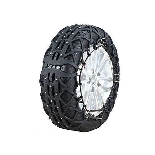 YIXIN Auto Schnee Kette Auto Van SUV SUV Universal Schnee Reifen Kette Sehne Verdickung Notfall (größe : 215/45R17) (215 45r17 Winter Reifen)
