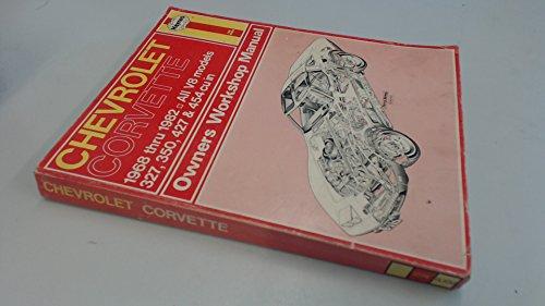 Haynes Chevrolet Corvette Owners Workshop Manual, No. 274: V8 68 Thru '82 Chevrolet Cavalier Owners Manual