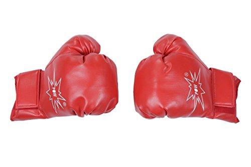 Wilbers Kostüm Zubehör Boxhandschuhe Boxer Handschuhe Karneval