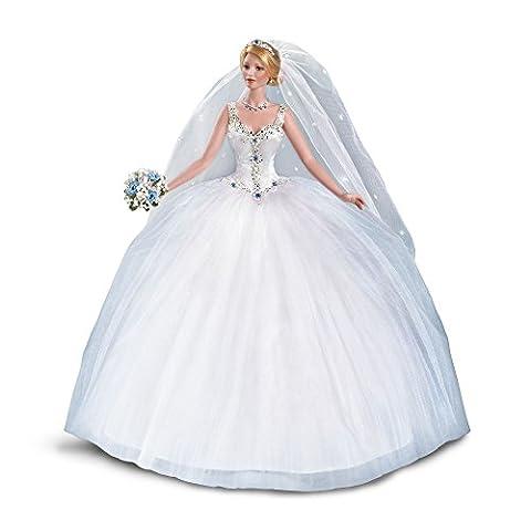 Märchenhafte Braut Exklusive Porzellan-Sammlerpuppe zum 30-jährigen Jubiläum von The Ashton-Drake Galleries von Cindy McClure