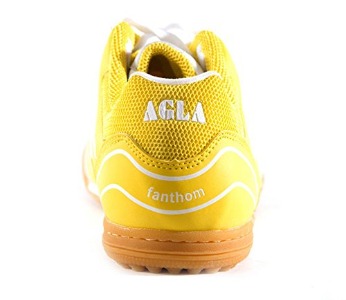 AGLA , Herren Futsalschuhe Media Yellow/White