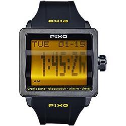 PX-1 LIME, Digital Flip Watch