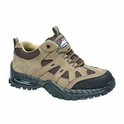 L'Himalaya 4042–6.0Miel Cuir bulles d'air Trainer Chaussures de sécurité, taille 6, Marron