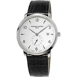 Frederique Constant Geneve Slimline FC-245SA5S6 Reloj elegante para hombres Muy llano