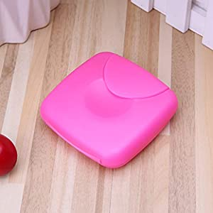 ZOUCY Portable Women Sanitary Napkin Tampons Storage Box Candy Color Container Holder
