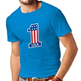 413i e pFsL. SL160  UK BEST BUY #1T shirts for men United States of America   USA American Flag patriotic clothing (Large Blue Multi Color) price Reviews uk