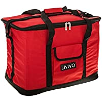 Extra Large 30 Litre 60 Can Imnsulated Cooler Cool Bag Collapsible Picnic Cam by Express (Ice Cooler Bag)
