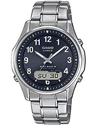 f541546514f2 CASIO Reloj Analógico para Hombre de Cuarzo con Correa en Titanio  LCW-M100TSE-1A2ER