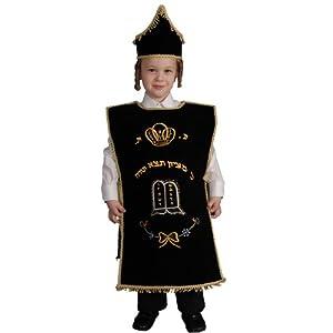 Dress up America Disfraz de Seifer Torah para niños