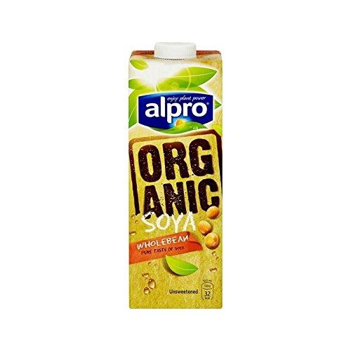 Organiques Soja Non Sucré Alternatives De Lait 1L D'Alpro - (Paquet de 4)
