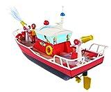 Dickie Toys 203099621 - RC Feuerwehrmann Sam Titan, funkferngesteuertes Boot mit verschiedenen Funktionen, 29 cm für Dickie Toys 203099621 - RC Feuerwehrmann Sam Titan, funkferngesteuertes Boot mit verschiedenen Funktionen, 29 cm