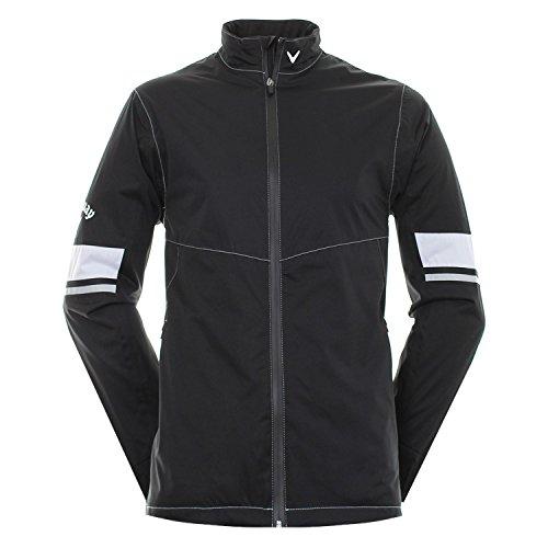 Callaway Golf Green Grass 3.0Waterproof Jacket Jacke, Herren, Schwarz, XXL (Footjoy Golf-kleidung)