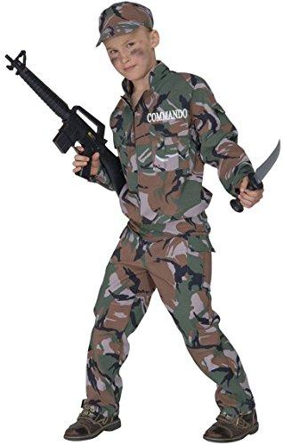 WIDMANN 55696 - Costume da Soldato, in Taglia 5/7 Anni