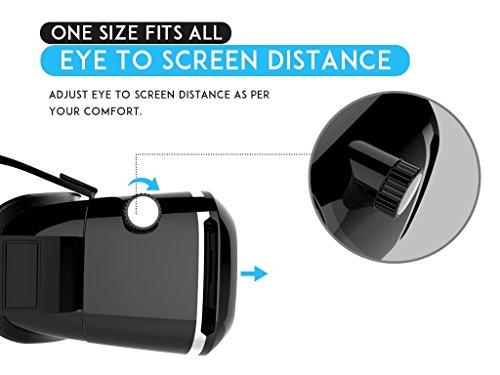 Procus-ONE-Virtual-Reality-Headset-42MM-Lenses-Fully-Adjustable-VR-Glasses-Black