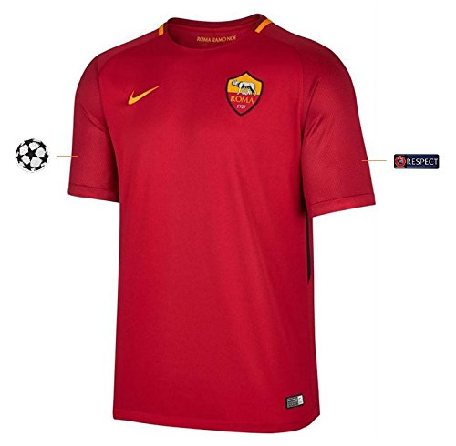 Trikot Herren AS Rom 2017-2018 Home UCL (S)