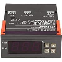 MH1210A CA 110V termostato regulador digital LCD Frigorífico Controlador de temperatura termopar controlador con sensor