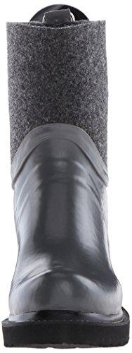 Ilse Jacobsen  RUB53, Bottes en caoutchouc à tige longue femmes Gris - Grau (Grau (06))