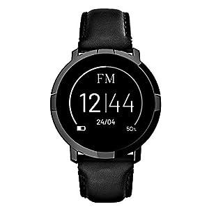 FLORENCE MARLEN FM1R Verona | Diseñado en Italia | 2 Correas | Smartwatch Hombre-Mujer Correa Piel Negra |Reloj… 11
