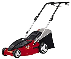 Einhell electric lawn mower GC-EM 1536 (1.500W, 36 cm cutting width, 38L fishing box, 25-65mm cutting height, folding guide rail, lightweight and robust)