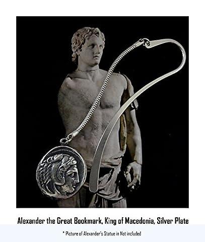 Alexander der Große Lesezeichen, King of Mazedonien, griechischen Götter und Göttinnen Collection (# 1book-s)