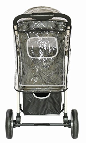 Innopet, Free Rain And Wind Cover, Monaco Stroller, Non Zipp Mesh Front Window Stroller 8