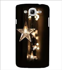 PrintDhaba Stars D-2376 Back Case Cover for SAMSUNG GALAXY MEGA 5.8 (Multi-Coloured)
