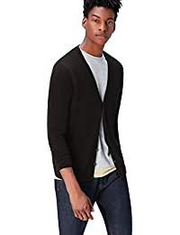FIND Men's Cardigan in Cotton Button Down