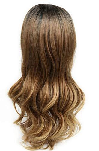 Perücke Ariel Kostüm Kind - XLWYNG Premium longue perruque ,Cheap perücke teilbeständig,pour les cheveux afro-américains résistants à la chaleur, 1B3027 26inches