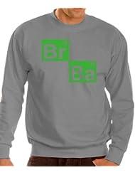 Touchlines Herren Pullover BR BA Formel Heisenberg Sweatshirt