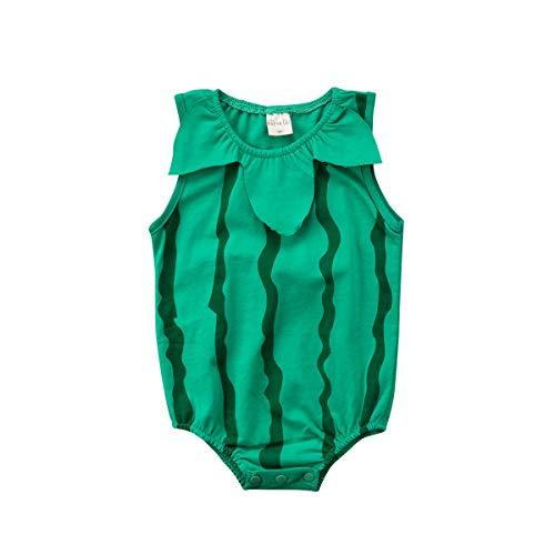 Wang-RX Reizendes neugeborenes Baby-Mädchen-Kleidungs-Karikatur-Bodysuit-Frucht-Erdbeerananas-Ausstattungs-Ostern-Kostüm für (Lollipop Girl Kostüm)