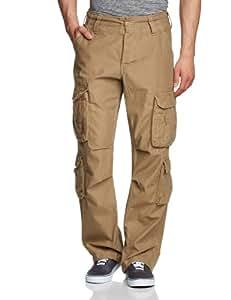 Surplus - Pantalon Homme - Airborne Vintage Trousers - Beige (Beige) - FR : W32/L32 (Taille fabricant : W32/ L32)