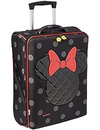 Disney Ultimate Upright 52/18 Minnie Equipaje Infantil, 33.5 Litros, Color Negro