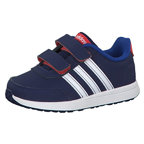 adidas Unisex Baby Vs Switch 2 CMF Sneaker, Blau (Dark Blue/Footwear White/Hi-Res Red 0), 27 EU