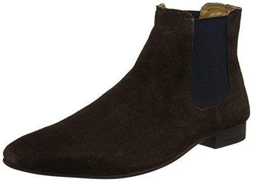 KG by Kurt Geiger Men's HARROGATE2 Chelsea Boots, Brown (Brown), 9 UK...