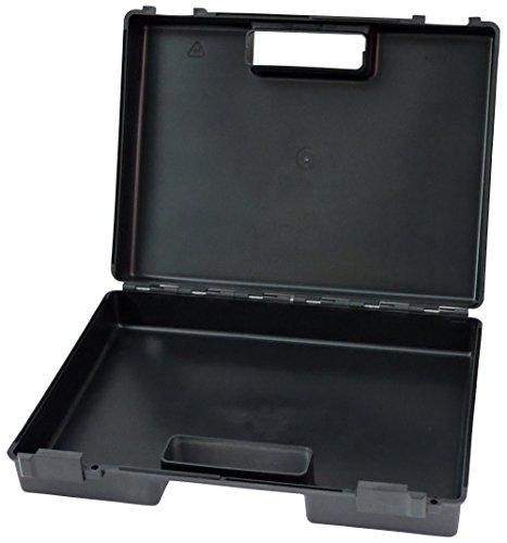 FAMEX 158-L Werkzeugkoffer aus stabilem PP-Kunststoff, leer, 38,5x30x9 cm