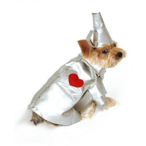 Boy Pet Hund Katze Tinman Wizard Of Oz Halloween Fancy Kleid Kostüm Outfit XS-L -, (Oz Halloween Kostüme)