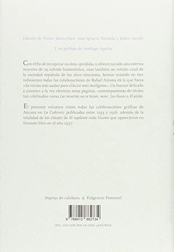 Repelencias. Todo Azcona en La Codorniz – Volumen 3 leer libros online gratis