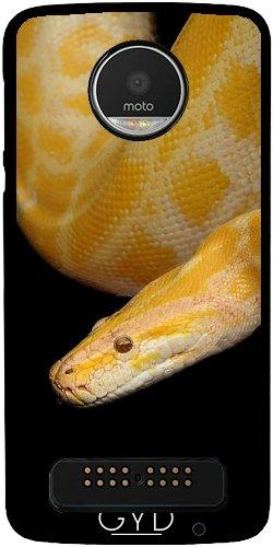 Hülle für Lenovo (Motorola) Moto Z Play - Schlange Reptilien Tier Wild by WonderfulDreamPicture (Schlange D&g)