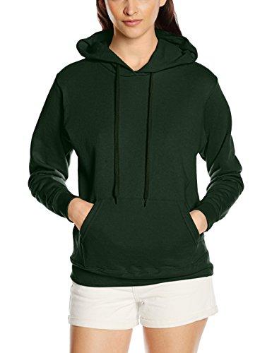 Frutta Di Orto - Hooded Sweat, Felpa unisex,  manica lunga, collo con cappuccio Green (Bottle Green)