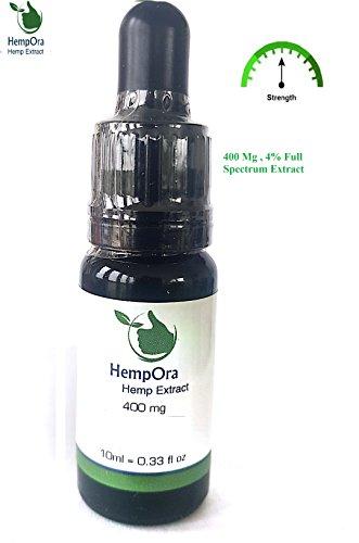 #HempOra ™, Hanf Extrakt mit 400 mg (4%) CO2 extrahiertem Öl.#