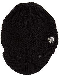Emporio Armani EA7 cuffia berretto donna originale mount urban 2 nero 85754721bc35