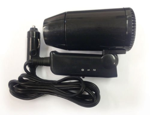 Price comparison product image Leisurewize 12V In-Car Hair Dryer,  Folding Handle Compact
