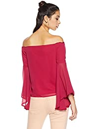 8186c1031f295e Georgette Women s Tops  Buy Georgette Women s Tops online at best prices in  India - Amazon.in