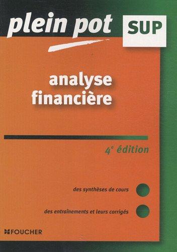 Analyse financière : Enseignement supérieur, BTS, DUT tertiaires