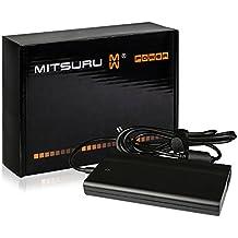 Mitsuru® Super Slim 90W Notebook adaptador cargador compatible con Sony Vaio Fit 15E SVF1532W1E Fit 15E SVF1532W4E Fit 15E SVF1532Z1E SV-T1312V1ES SVE11115EG SVE11126CV SVE11136CV SVE141112EG SVE14111EG SVE14112EG.