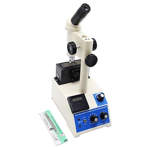 Huanyu X-4 Digitales Display Schmelzpunkt Gerät mit Mikroskop Professional für Labor & Medizin -...