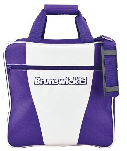 Brunswick Bowling Bag Handtasche-Schaltknauf, 1 Stück, weiß