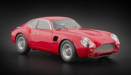 Preisvergleich Produktbild 1961 Aston Martin DB4 GT Zagato Red 1 / 18 Limited to 1000pc by CMC 146 by CMC