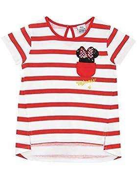 Disney Minnie Mouse - Maglietta a Maniche Corte - Topolina - Ragazze